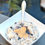Pear & Cranberry Cream of Wheat & Oatmeal Bowl