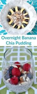 Overnight Banana Chia Pudding