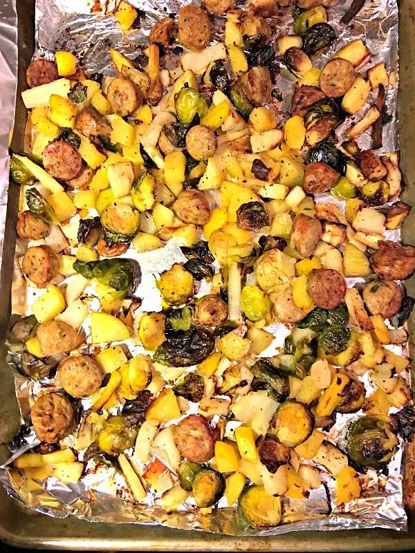 Roasted Pan Dinner