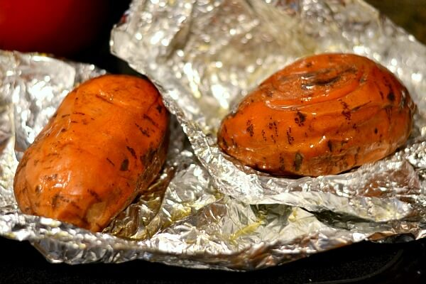 Steamed Baked Sweet Potatoes