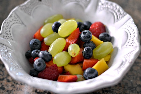 Mixed fruit bowl