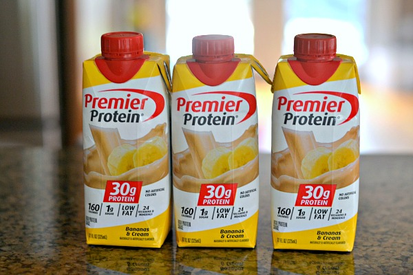 Premier Protein's new Bananas and Cream Shake