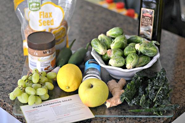 ALDI Superfoods Salad Ingredients