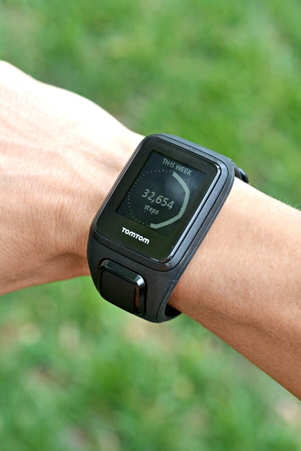 TomTom Spark Cardio + Music GPS Fitness Watch Step Tracking