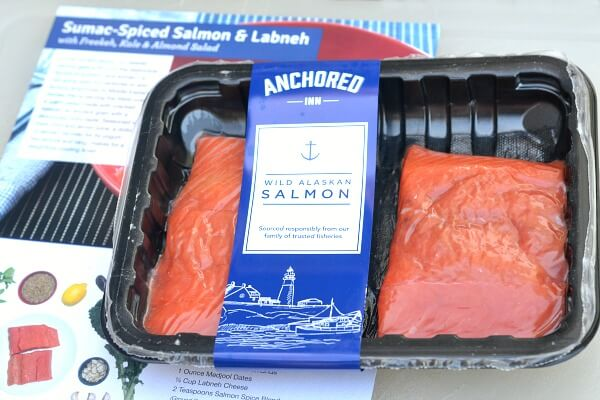 Blue Apron Wild Alaskan Salmon