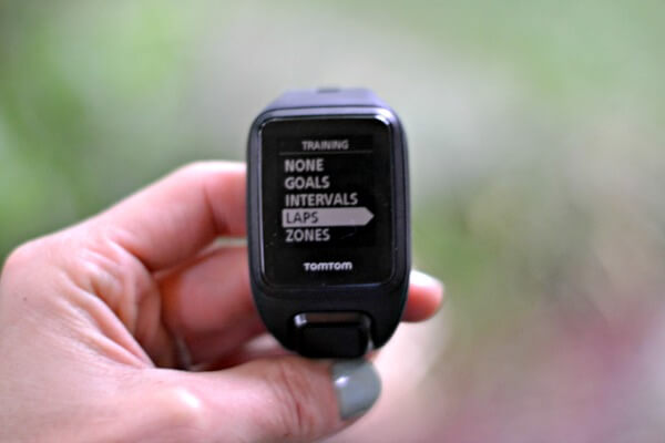 TomTom Spark Cardio + Music GPS Fitness Watch Training Modes