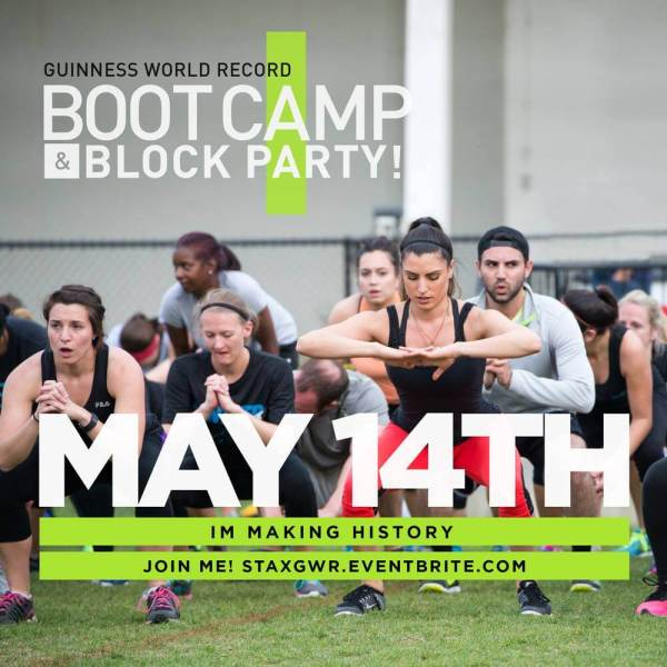 Stax Bootcamp Guinness World Record Breaking Attempt