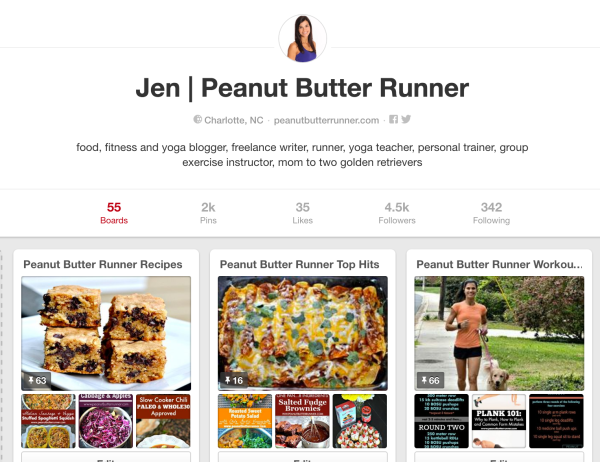 Peanut Butter Runner Pinterest