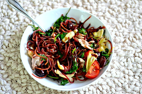 Spiralized beet ideas