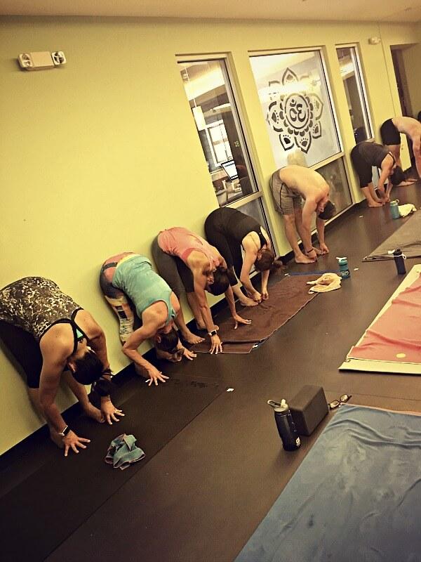 Yoga Forward Fold Drill