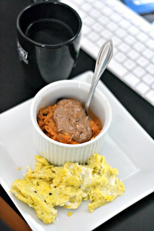 Sweet potato breakfast bowl