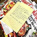 This Week's Meal Plan + Last Week's Workouts