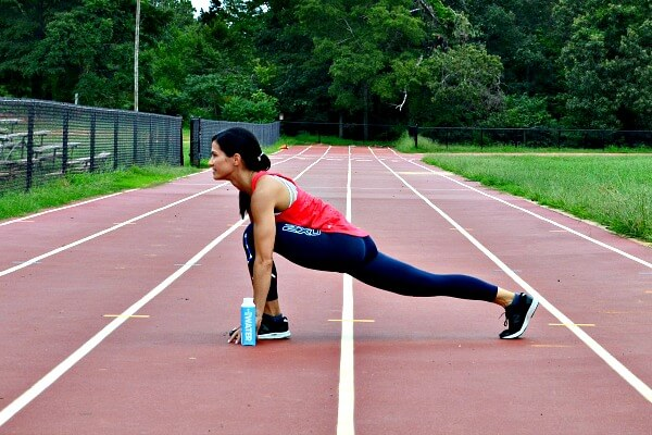 Track & Field Inspired Running & Bodyweight Track Workout