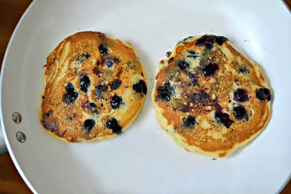 Dairy-Free Blueberry Buttermilk Pancakes