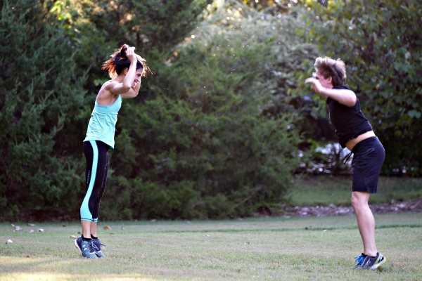 Burpee Couples Workout