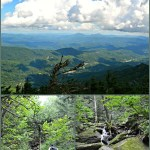 Hiking the Profile Trail on Grandfather Mountain to Calloway Peak
