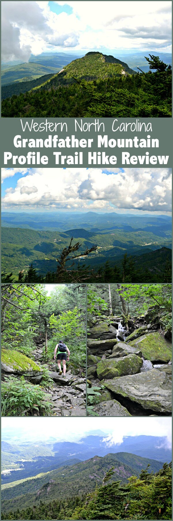 A review of the Profile Trail hike to Calloway Peak on Grandfather Mountain in the Western North Carolina mountains.
