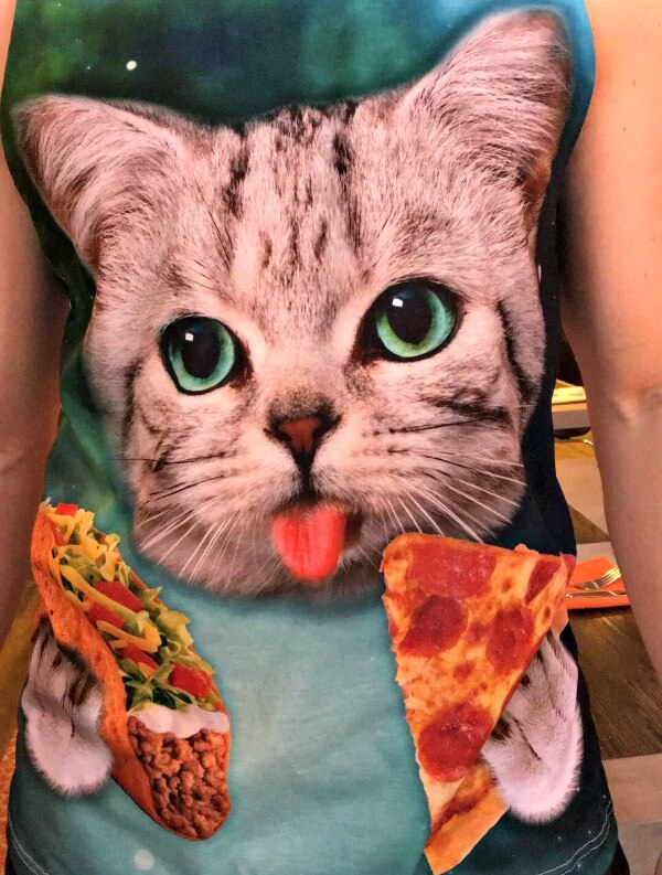 Cat Pizza and Taco Tank