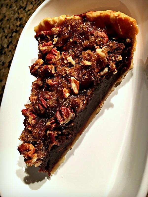 Chocolate Pecan Chess Pie