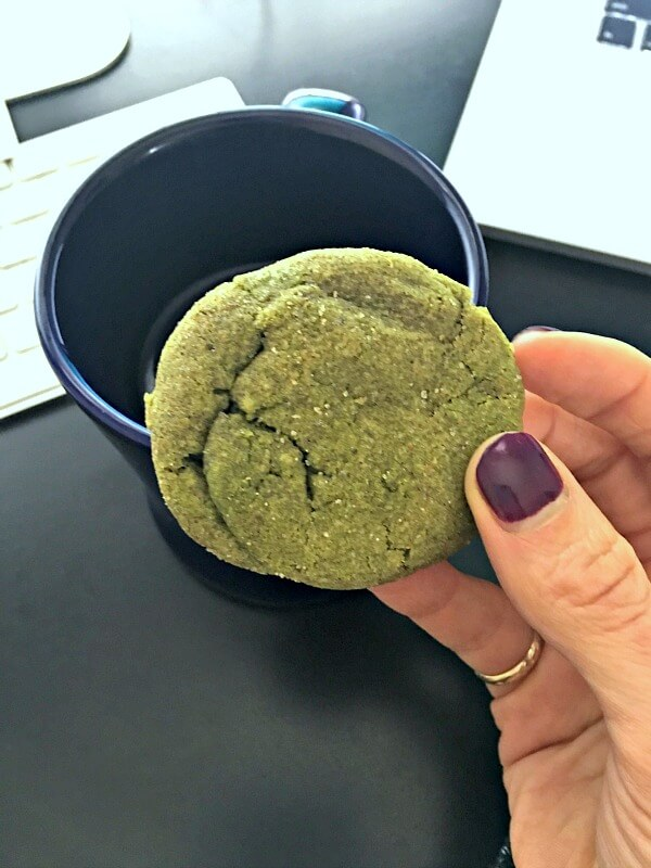 Matcha Chai Spiced Sugar Cookies