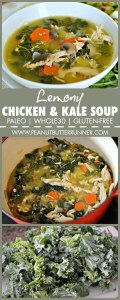Lemony Chicken and Kale Soup