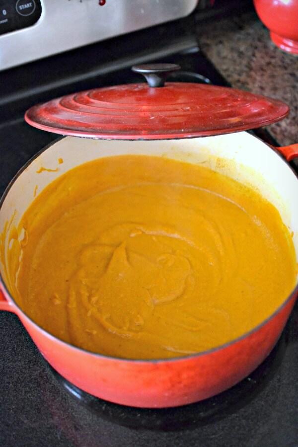 Purple Carrot Carrot Turmeric Soup