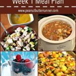 Last Week's Workouts + Whole30 Week 1 Meal Plan