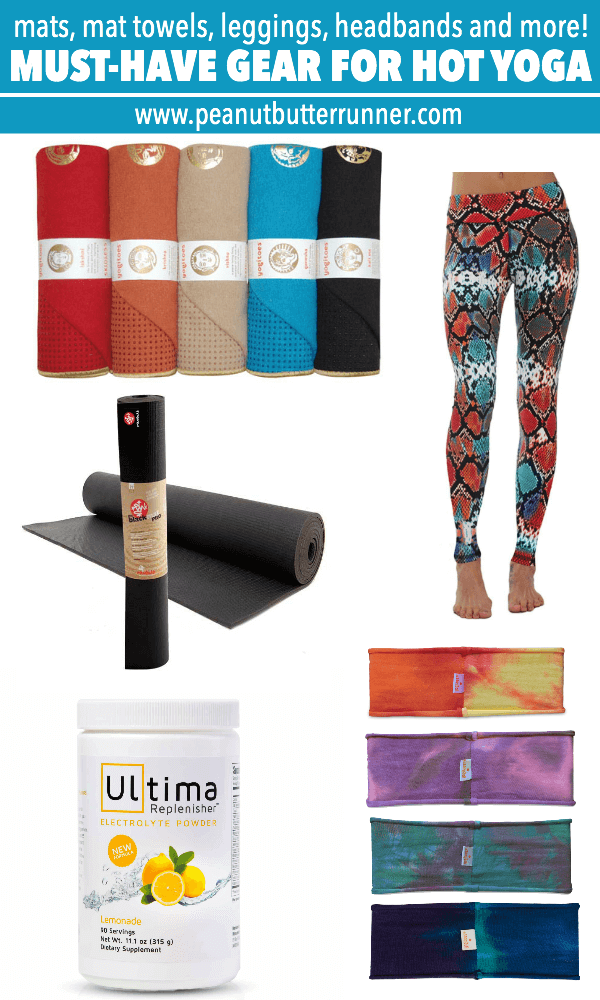A yoga teacher's top picks for the must-have gear for hot yoga!
