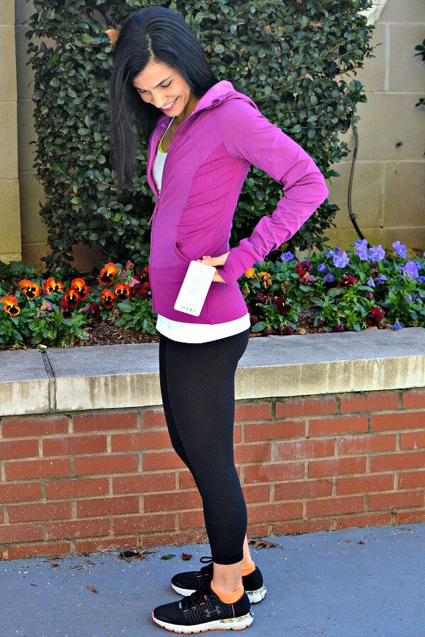 How I scored a brand new lululemon jacket with tags for 50% off with thredUP.