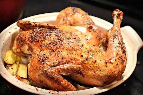 Ina's Perfect Roast Chicken
