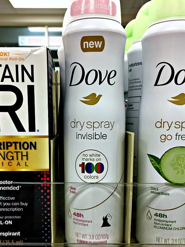 Breakthrough Technology for Dry Spray Deodorants at CVS