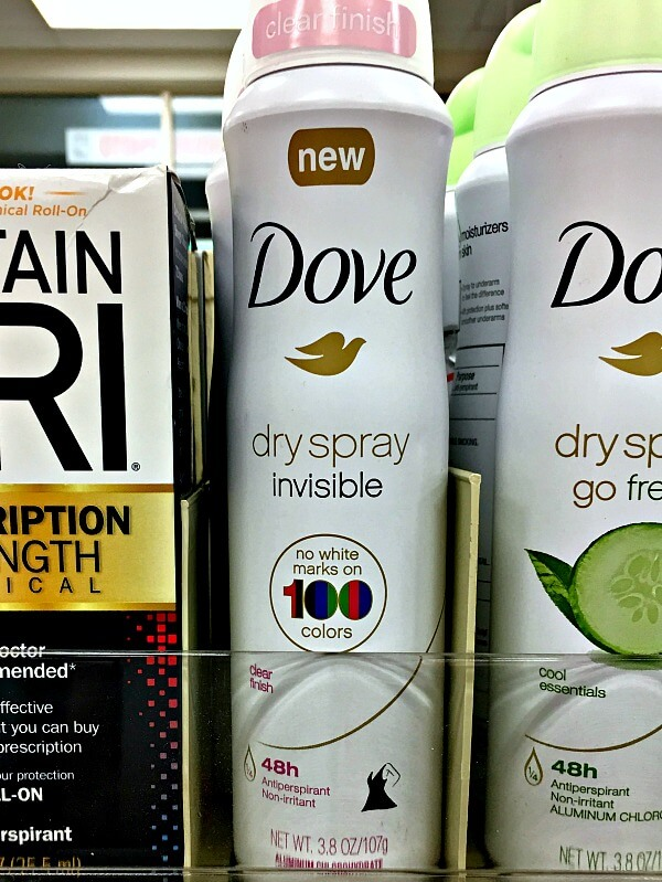 Breakthrough Technology for Dry Spray Deodorants at CVS