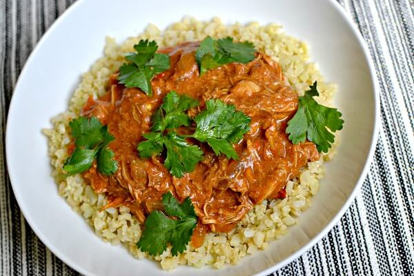 A recipe for Slow Cooker Butter Chicken that is Whole30 and Paleo friendly while also extremely rich in taste and texture!