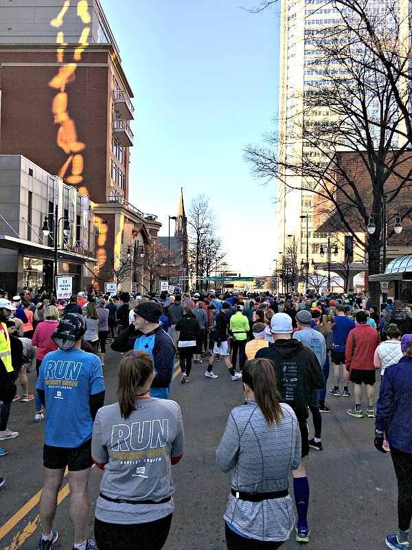 Corporate Cup Half Marathon Starting Line