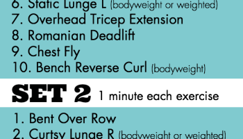 Total Body Dumbbell Strength Workout 21 Minute Or 43 Options