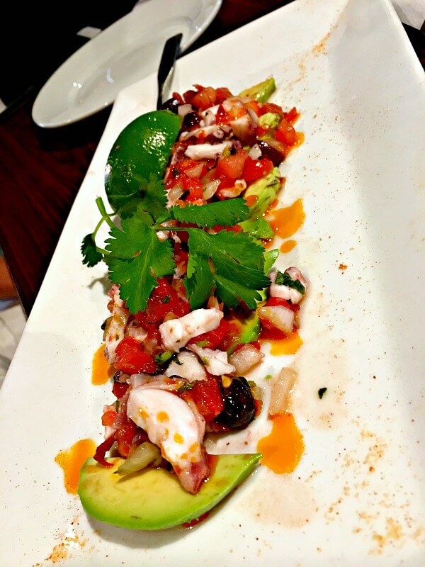 octopus ceviche