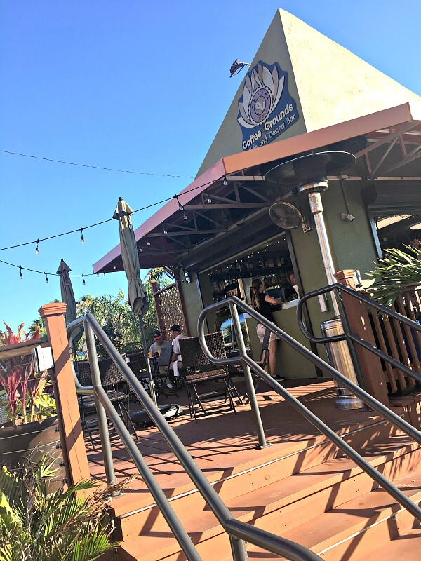 coffee grounds treasure island