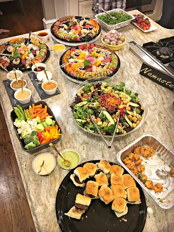cowfish party spread