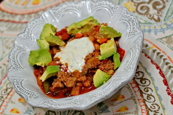 80Fresh Three-Bean Chili