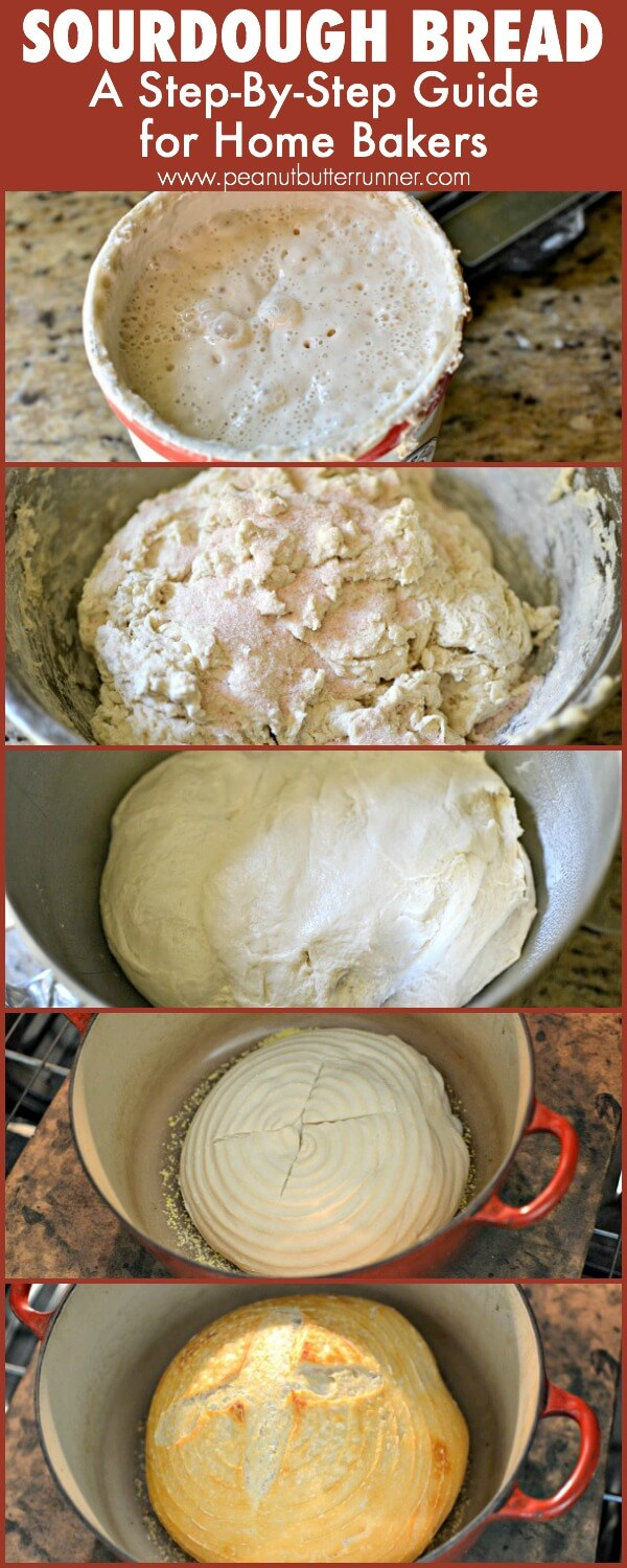 Sourdough Bread: A step-by-step guide for home bakers.