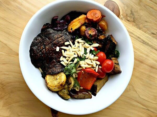 whole foods hot and salad bar bowl