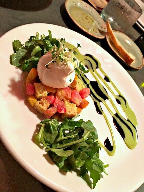 burrata panzanella salad
