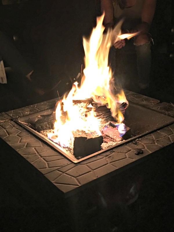 letting go bonfire