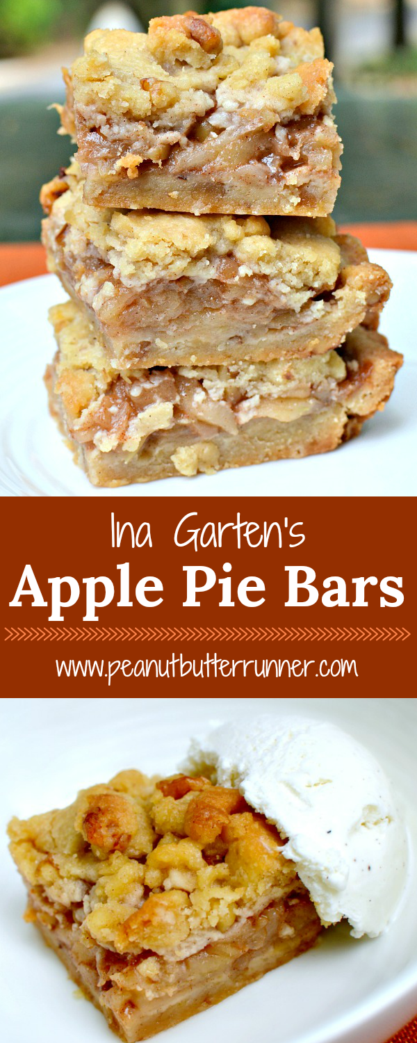 Ina Garten's Apple Pie Bars - EASIER than apple pie!