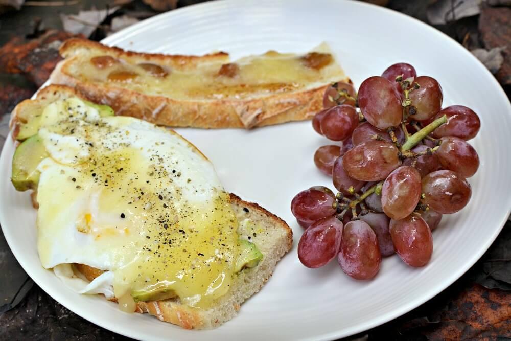 Sourdough toast combinations