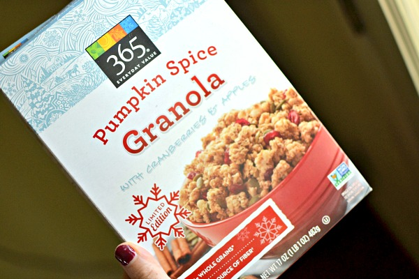 whole foods pumpkin spice granola