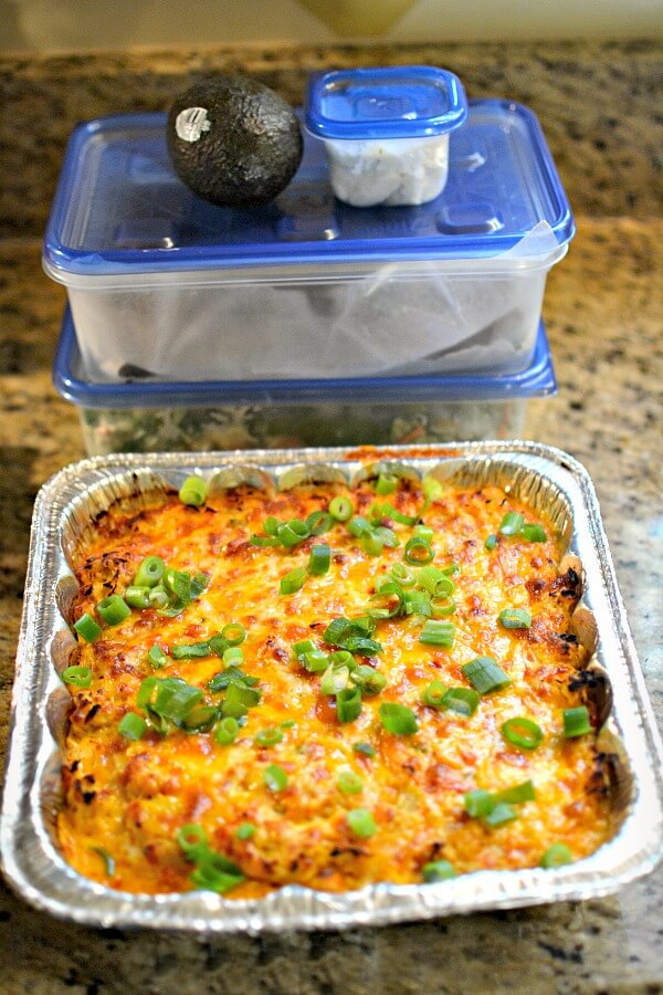 PaleOMG buffalo chicken casserole