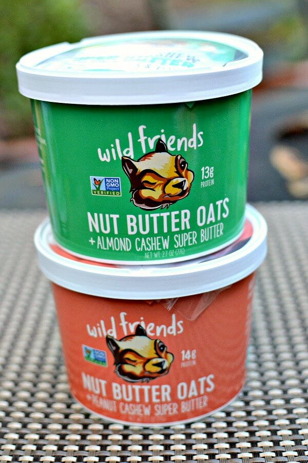 wild friends nut butter oats