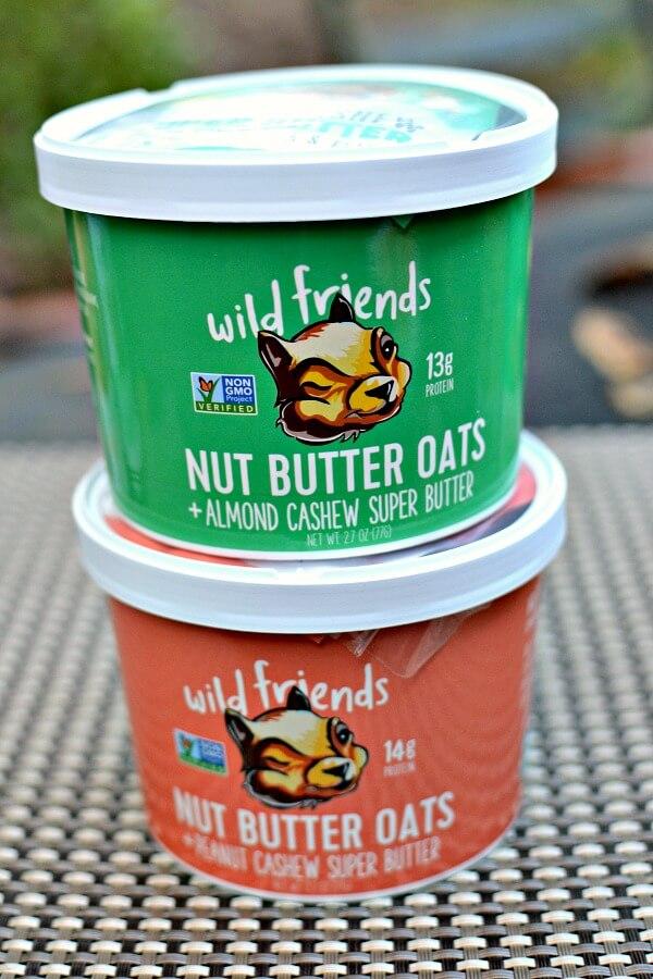 wild friends nut butter oats