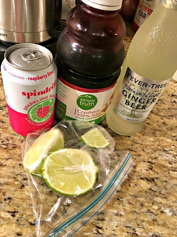 mocktail ingredients